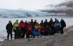 Group photo at Ossian Sarsfjellet