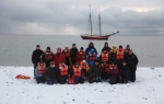 Group photo on Moffen