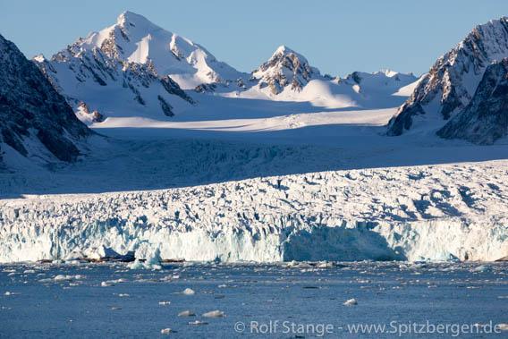 Gletscher im Liefdefjord