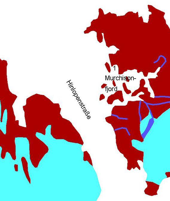 Kart Murchisonfjord