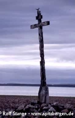 Pomor cross, Krossøya, Murchisonfjord