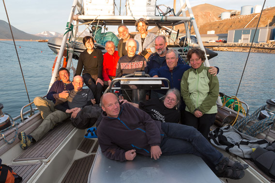 Around Spitsbergen on board SY Arctica II, 04-22 August, 2014 - Group photo 2