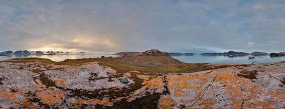 Spitsbergen - 360°-Panoramas