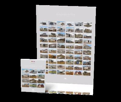 Svalbardhytter Buch + Poster